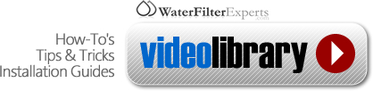 WaterFilterExperts.com Video Library
